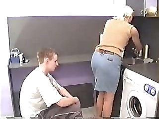 (BD) Mom Needs To Finish The Dishes! hardcore milf russian video