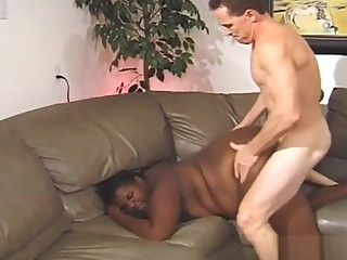 Sales Lady Gets Fucked interracial ebony bbw video