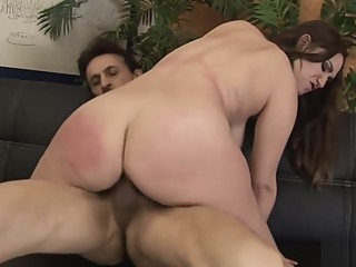 Rucca Page moans in pleasure while fucked big tits hardcore mature video