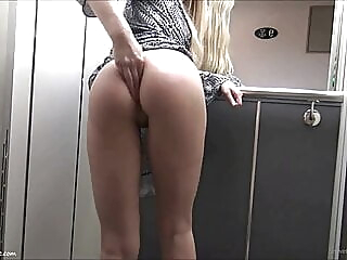 This Is How She Spends Her Lockdown anal blonde funny video