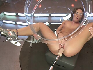 Pawg brunette fucks dp machine big ass fuck machine hd video