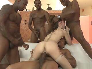 White cum depository for huge cock thugs big cock brunette fetish video