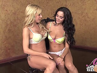 Ava Adams and Amy Brooke decided to make love with each other, all night long anal big tits blond video