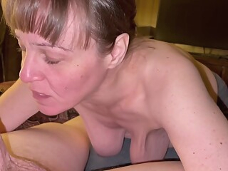 Visit College Buddy And His Mother Invited Me In And Sucked My Cock Dry! She Was One Hungry Granny! amateur brunette couple video