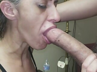 Gagging Granny Gummer Gnaws On Simps Cock amateur blonde deepthroat video
