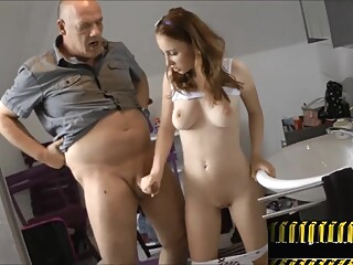 Daddy fickt 18J. Tochter amateur big cock big tits video