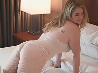 Patreon Ellie Renee in sexy body stockings leaked video amateur blonde hd video