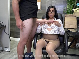 Busty Pornstar Tugs Monstrous Fake Cock For Cum amateur big cock big tits video