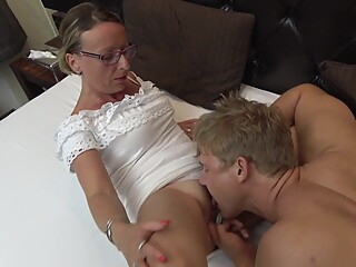 Sanita Ramira in Granny Fuck amateur big tits blonde video