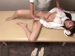 Japanese massage turned in hottest sex big tits interracial milf video