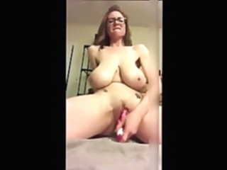 Huge Saggy Tit Mom With Glasses Toys Her Cunt amateur sex toy hd videos video