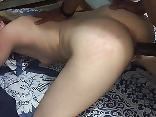 Pale skin wife fucked by BBC blonde hardcore top rated video