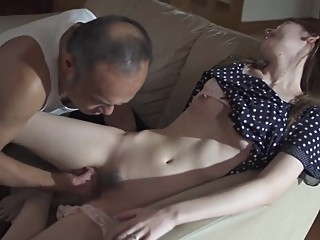 Horny Father in law Molest and Fuck Stepdaughter asian babe blowjob video