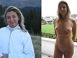Dressed and Undressed II blonde brunette hairy video