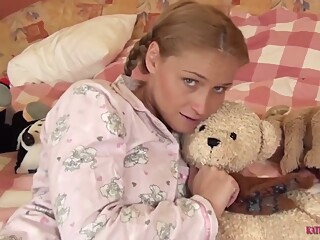 katie kox blond hd point of view video