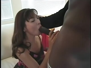 Japanese MILF Pulls BBC Train asian big cock cumshot video
