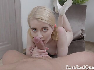 Anal 2 anal big ass blond video