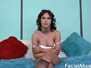 Auntie Bumpblefuck is a kinky brunette who likes to get throatfucked and doublefucked all day long brunette cumshot deep throat video
