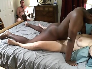 Mistress Joyce Gets Good Fuck By Bbc, Cuckold Cum Cleanup amateur big cock big tits video