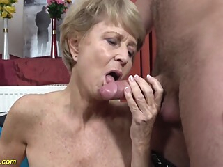 75 Year Old Mom Loves Toyboy amateur big cock blonde video