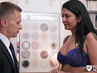Mariska school Teacher fucks amateur anal big tits video