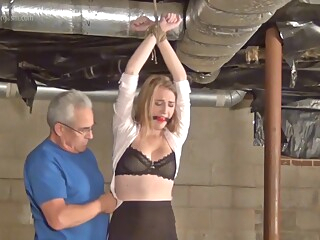 Ashley Mercilessly Taped - Bondage Video amateur bdsm blonde video