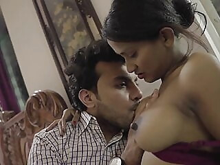 Desi with big tits loves anal sex, HD anal blowjob brunette video